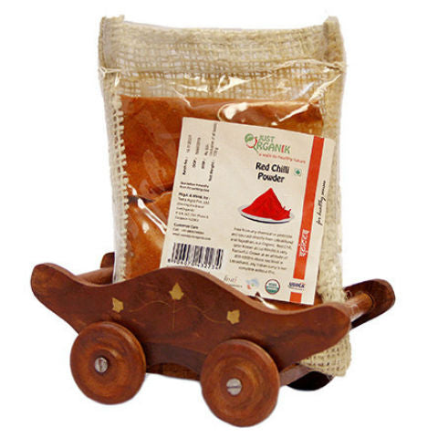 Just Organik Organic Red Chilli Powder Regular 100gm