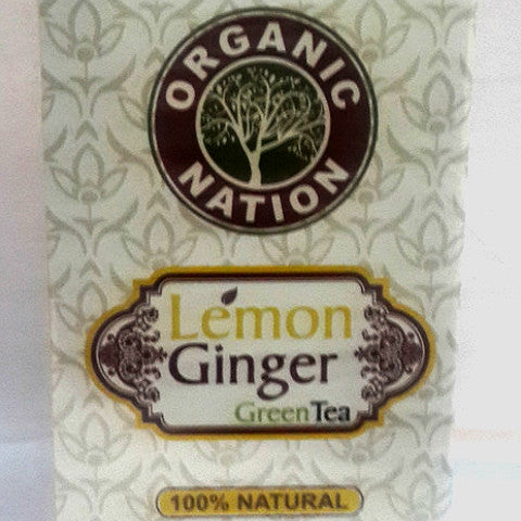 Organic Nation Lemon Tea 25 Tea Bags