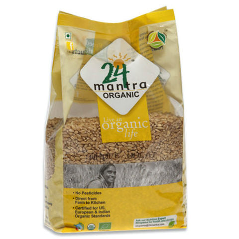 24 Mantra Whole Wheat 1Kg