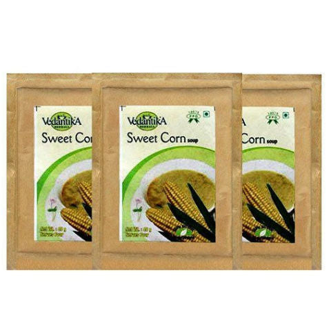 Vedantika Herbals Sweet Corn Soup 3x40gm