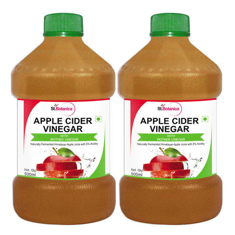 StBotanica Apple Cider Vinegar 100% Natural And Pure (Pack Of 2)