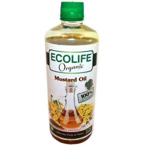 Ecolife Organic Mustard Oil 500ml