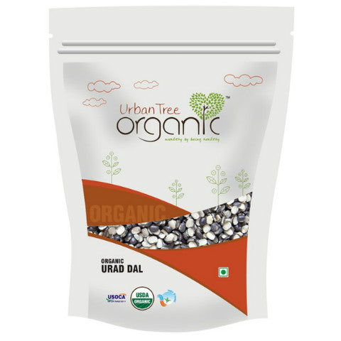Urban Tree Organic Urad Dal Split 500gm