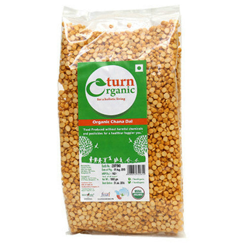 Turn Organic Chana Dal 1 Kg