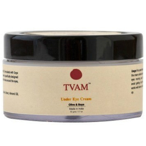 Tvam Naturals Olive & Soya Under Eye Cream 50gm