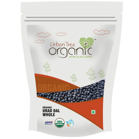 Urban Tree Organic Urad Dal 500gm