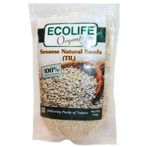 Ecolife Organic Sesame Natural (Pack Of 2)