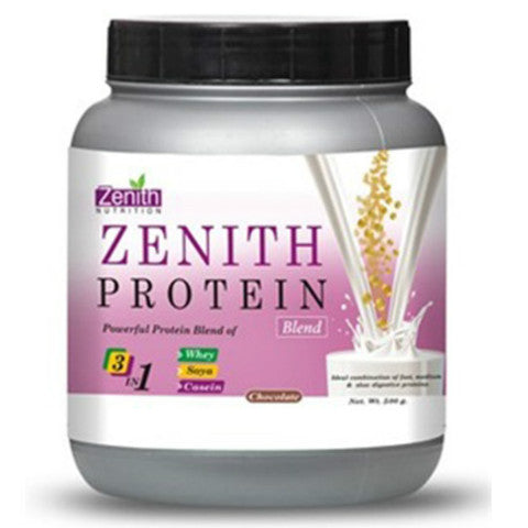 Zenith Nutrition Protein Blend Chocolate Flavour 500gm