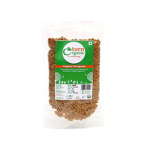 Turn Organic Fenugreek 100gm