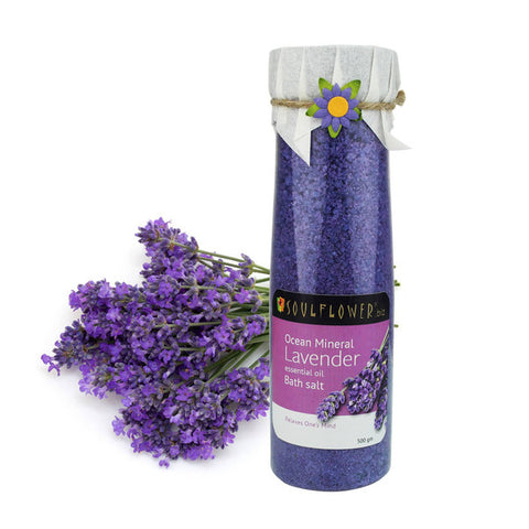 Soulflower Lavender Bathsalt 500gm