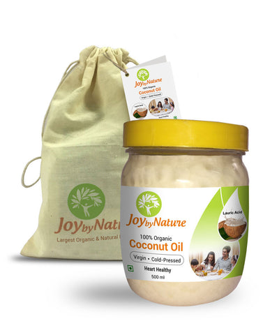 Joybynature Organic Virgin Coconut Oil 500ml