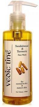 Vedicline Sandal & Turmeric Face Wash 200ml