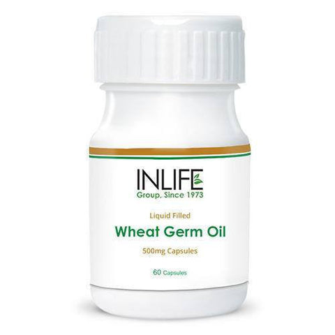 Inlife Wheat Germ Oil 60 Capsules
