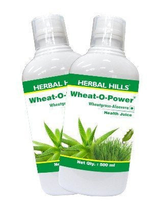 Herbal Hills Aloevera Wheatgrass Juice (Combo)