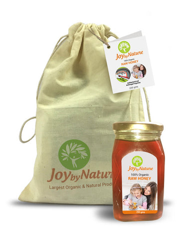 Joybynature Organic Raw Honey 250gm