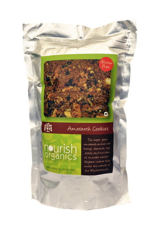 Nourish Organics Amaranth Cookies 150gm