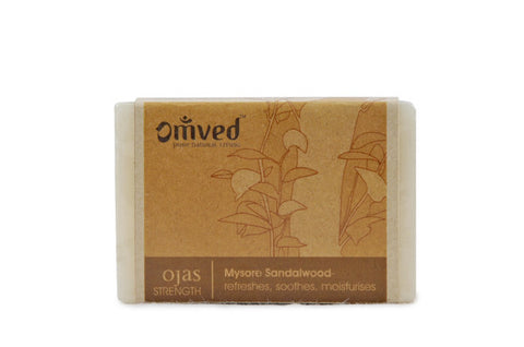 Omved Ojas Sandalwood Bath Bar 125gm