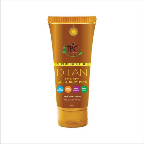 Tbc By Nature D Tan Tomato Face & Body Pack 100gm