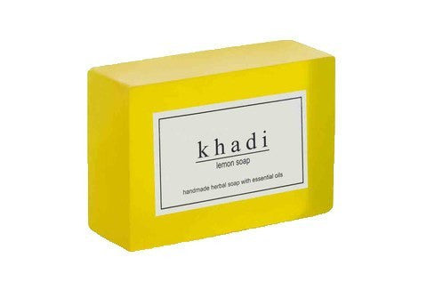Khadi Natural Lemon Soap 125gm