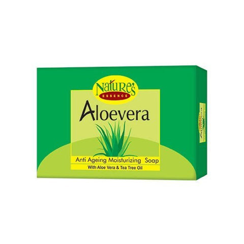Nature Essence Aloevera-Anti Ageing Moisturizing Soap 75gm (Pack Of 3)