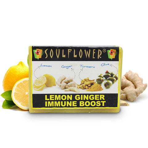 Soulflower Lemon Ginger Immune Boost 150gm