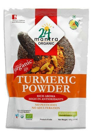 24 Mantra Turmeric Powder 100gm