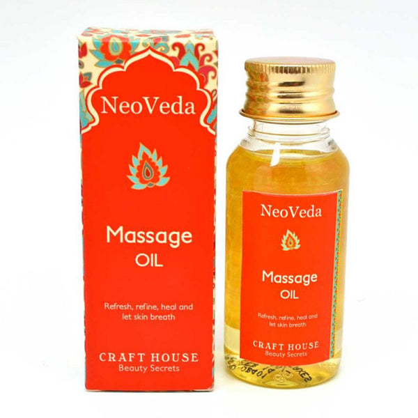 NeoVeda Massage Oil 60Ml