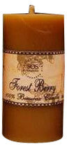 Sos Organics Forest Berry- Beeswax Candle 80gm