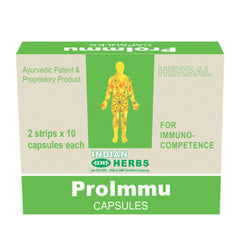 Indian Herbs Proimmu A Natural Way To Enhance Your Immunity 20 Capsules