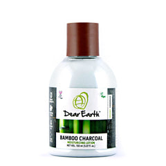 Dear Earth Bamboo Charcoal Moisturizing Lotion 150ml