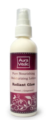 AuraVedic Pure Nourishing Moisturizing Lotion -  Radiant Glow With Almond & Grapeseed 100ml