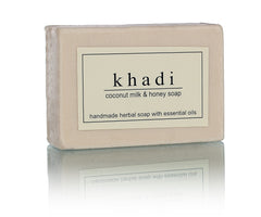 Khadi Natural Coconut Milk & Honey Soap 125gm