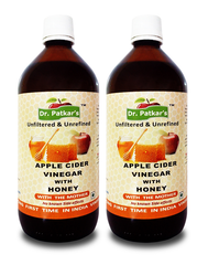 Dr. Patkar's Apple Cider Vinegar with Honey (Pack of 2)