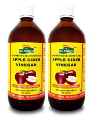 Dr. Patkar's Apple Cider Vinegar with the Mother (Pack of 2)