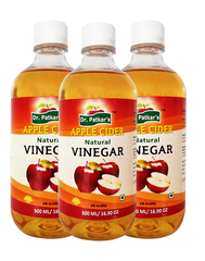 Dr. Patkar's Natural Apple Cider Vinegar Refined (Pack of 3)