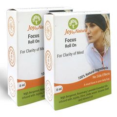 Joybynature Focus Roll On 8ml Pack Of 2