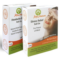Joybynature Headache And Stress Relief Roll On Combo