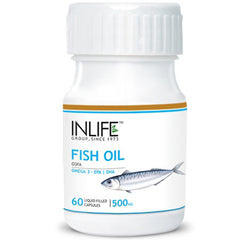 Inlife Fish Oil Omega 3 60 Capsules