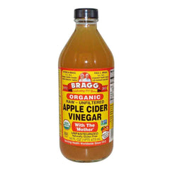 Bragg Organic Raw Unfiltered Apple Cider Vinegar with the Mother (16 oz) (473ml)