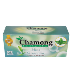 Chamong Mint Green Tea 25 Tea Bag