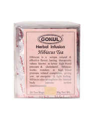 Gokul International Hibiscus Tea 20 Tea Bags