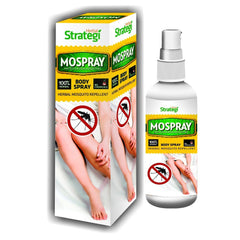 Herbal Strategi Mospray 100% Natural Mosquito Repellent Body Spray 100ml