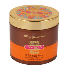 Face Pack - Inveda D Tan Face Pack 100ml