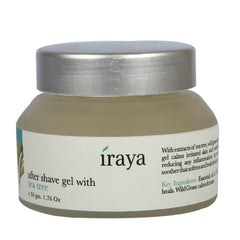 Iraya After Shave Gel With Tea Tree 50gm