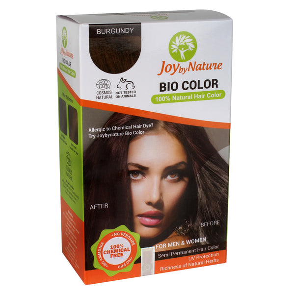 Joybynature Organic Hair Color - Burgundy 150gm