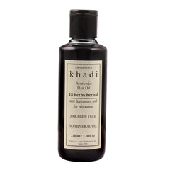 Khadi Natural 18 Herbs Hair Oil 210ml