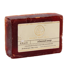Soaps - Khadi Natural Almond Soap 125gm