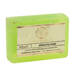 Soaps - Khadi Natural Aloevera Soap 125gm