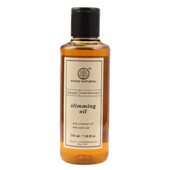Khadi Natural Slimming Oil - Paraben Free & No Mineral Oil 210ml