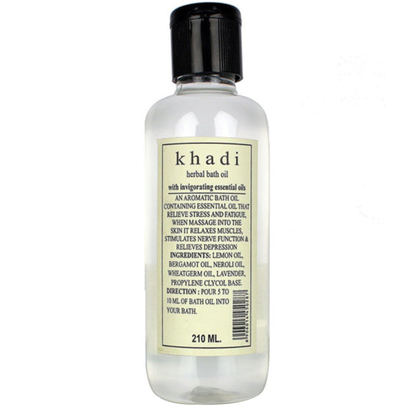 Khadi Natural Bath Oil 210ml